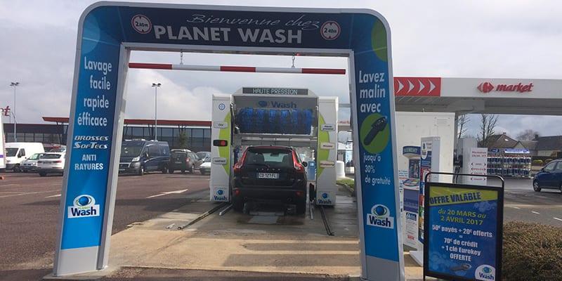 Planet Wash, Villers-Bocage Market